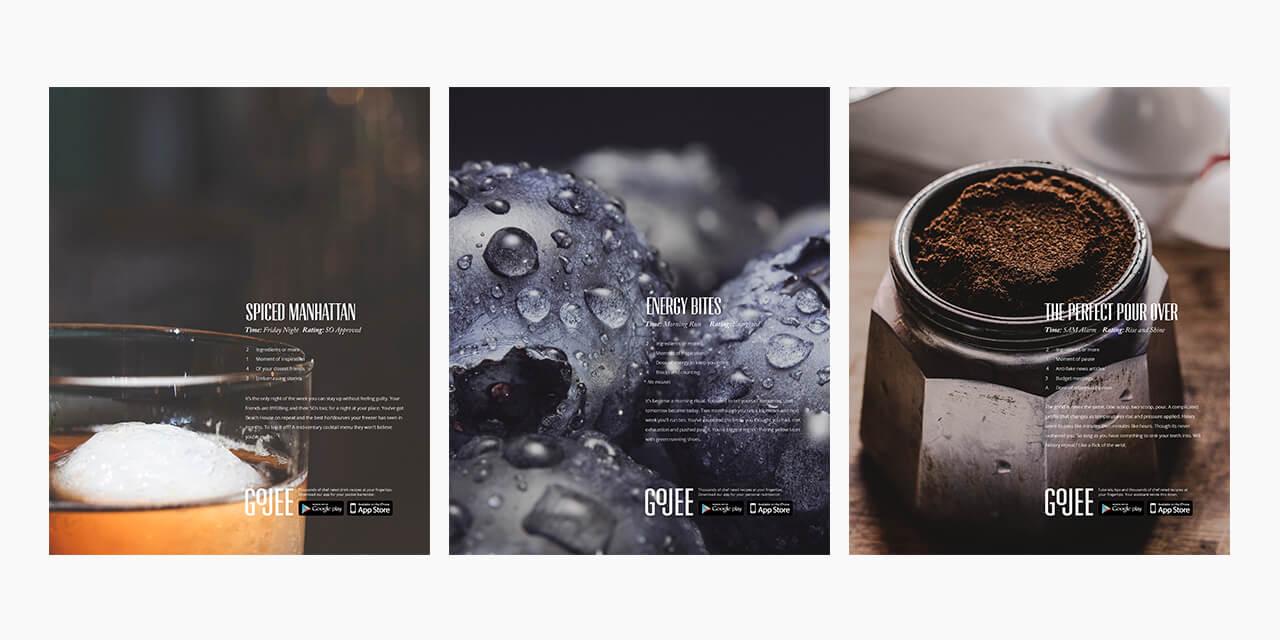 Gojee Magazine Ads, Additional Persona