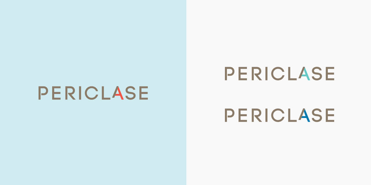 Periclase Final Logo Colour Variations