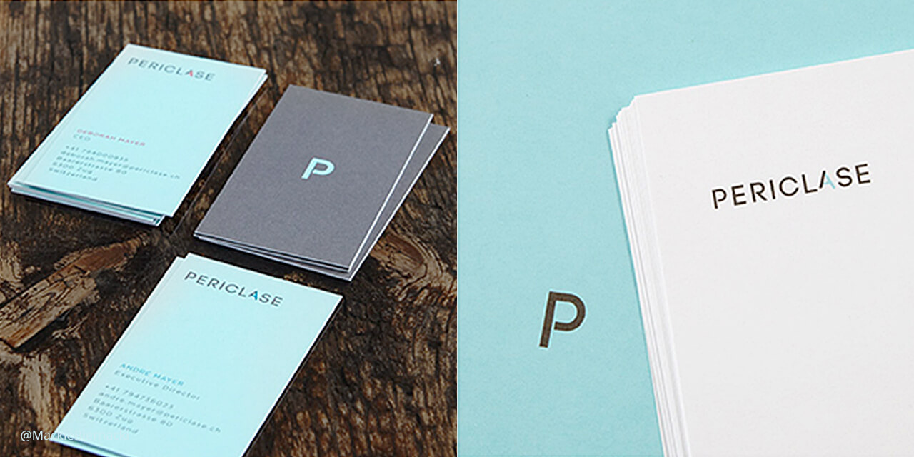 Periclase Business Card Mock