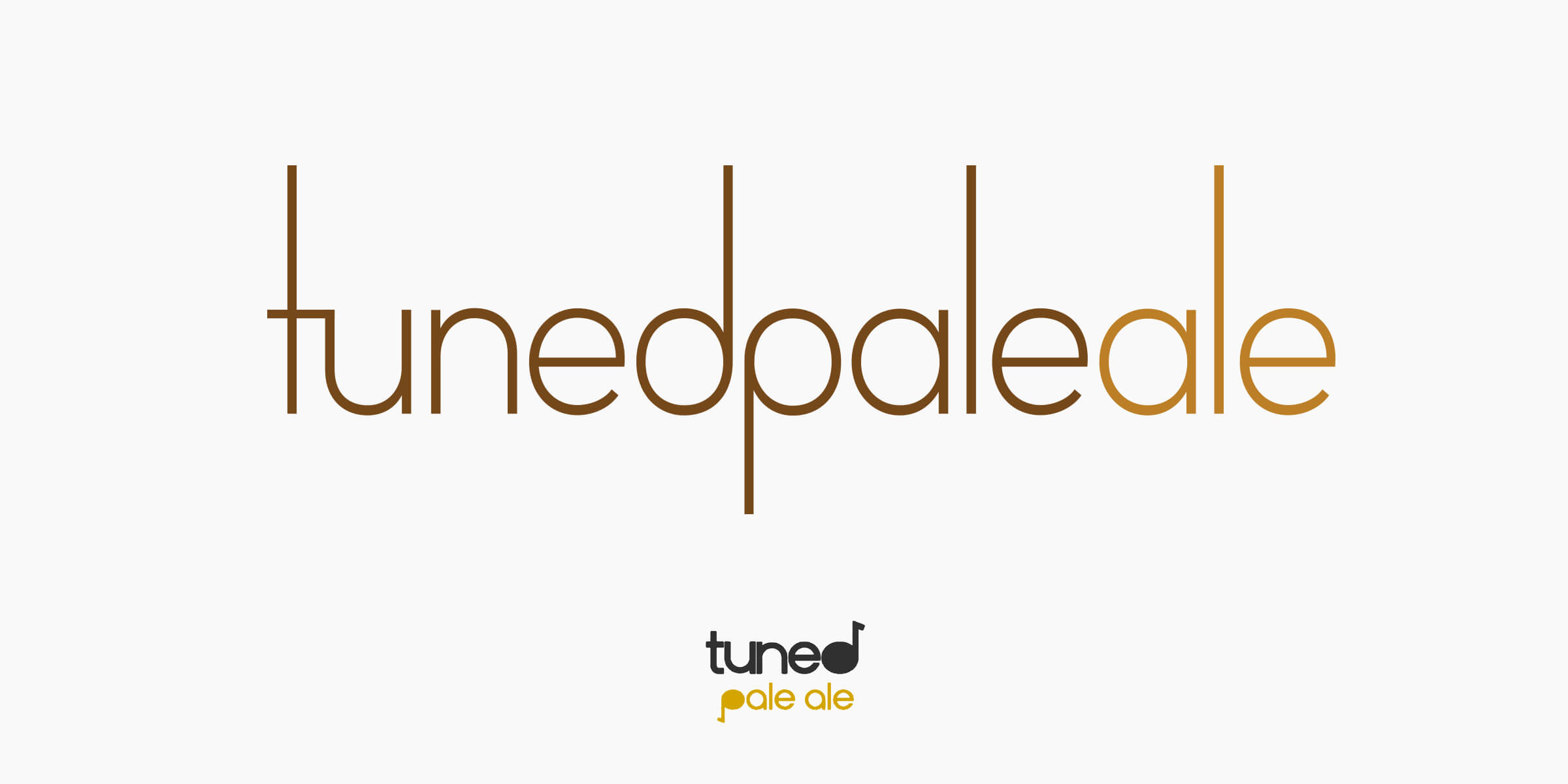 Tuned Pale Ale New versus Old Logo