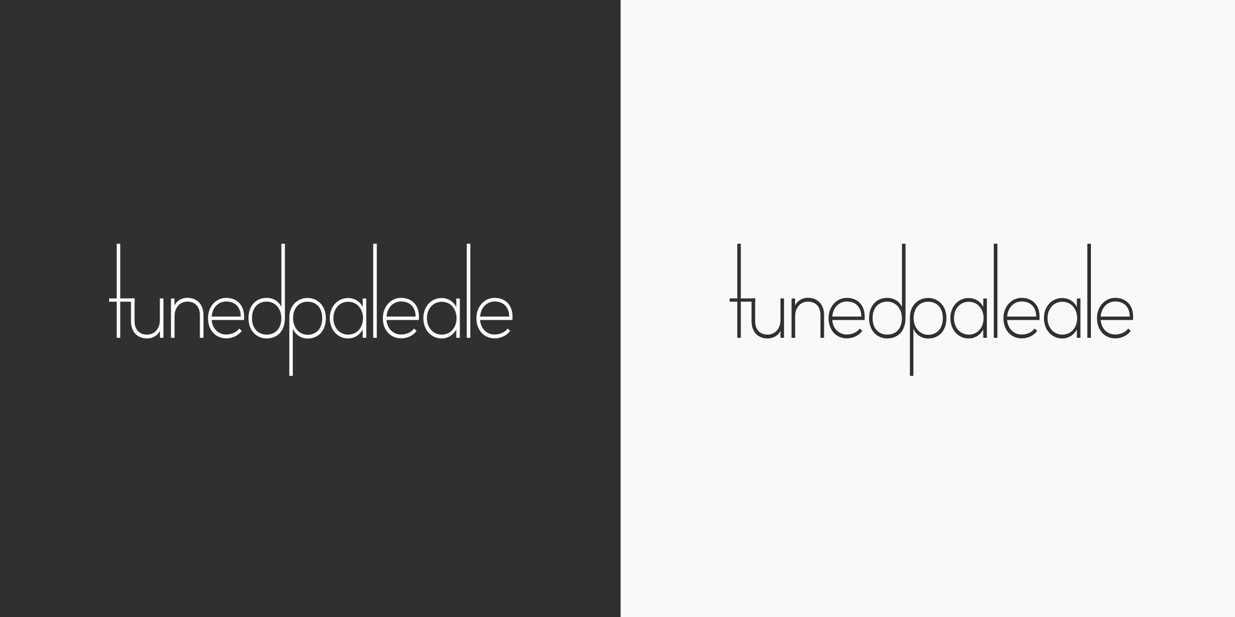 Tuned Pale Ale Logo Colour Variations