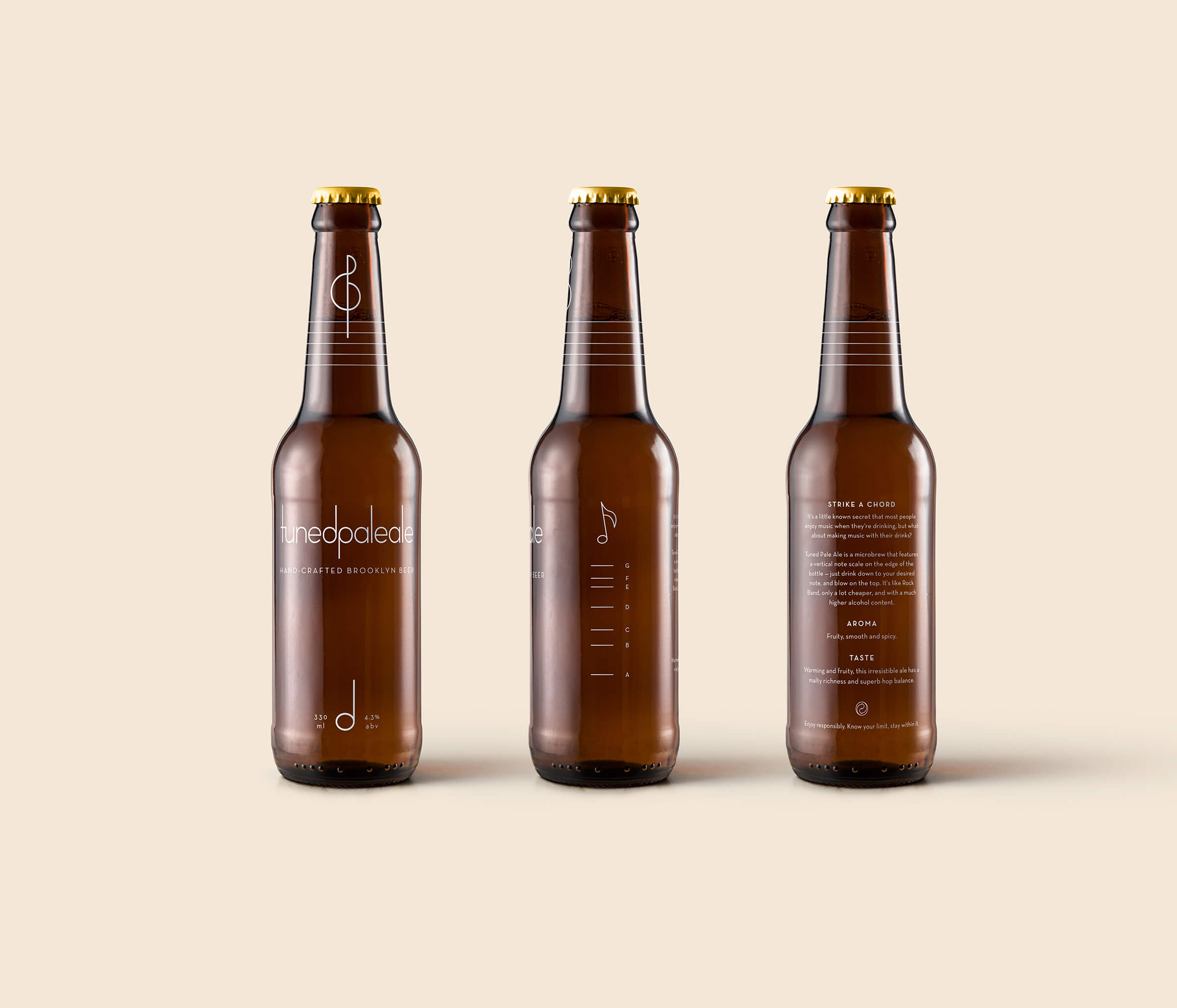 Tuned Pale Ale Bottle